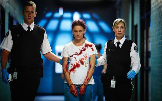 Wentworth - Danielle Cormack-Bea Smith in una scena. © Foxtel, all rights reserved