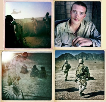 Marines in Afghanistan - Copyright Teru Kuwayama